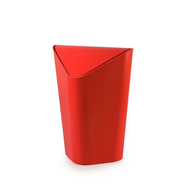 poubelle salle de bain d 39 angle rouge umbra. Black Bedroom Furniture Sets. Home Design Ideas