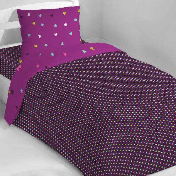 housse de couette fille couette f e. Black Bedroom Furniture Sets. Home Design Ideas