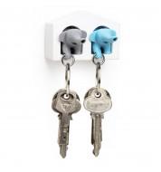 Accroche clé éléphant duo Qualy