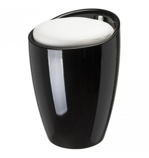 tabouret pouf espace de rangement. Black Bedroom Furniture Sets. Home Design Ideas