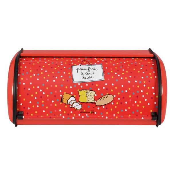Boite pain rouge derri re la porte conservation du pain - Boite derriere la porte soldes ...