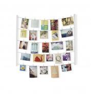 Cadre photo à épingler Hangit blanc Umbra