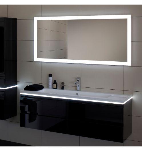 miroir salle de bain led luz sanijura 80 cm d co salle de bain. Black Bedroom Furniture Sets. Home Design Ideas