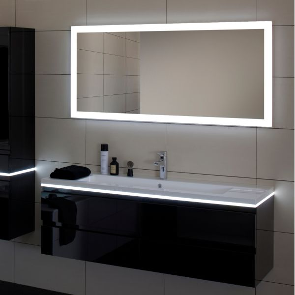 miroir salle de bain led luz sanijura 80 cm d co salle de bain. Black Bedroom Furniture Sets. Home Design Ideas