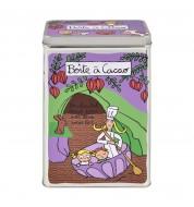 Boite à cacao Crémeuh violet