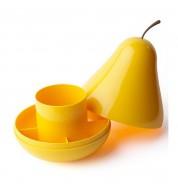 Rangement bureau poire jaune Qualy