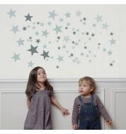 Sticker Constellation Gris Art for kids