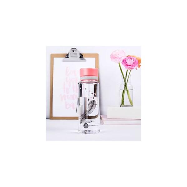 bouteille design plume equa. Black Bedroom Furniture Sets. Home Design Ideas