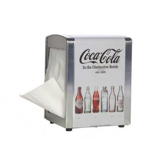 distributeur de serviette en papier coca cola cosy trendy. Black Bedroom Furniture Sets. Home Design Ideas