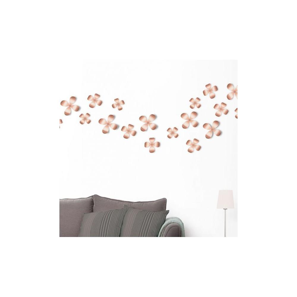 Fleurs umbra - Umbra deco murale ...