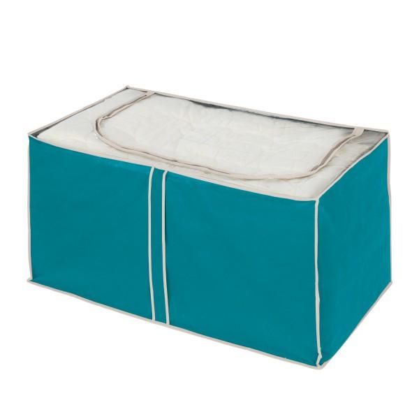 Housse de rangement bicolore boite rangement v tement - Housse rangement vetement ...