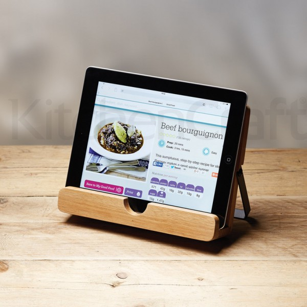 Lutrin de cuisine porte tablette tactile for Tablette tactile cuisine