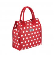 Sac isotherme repas pois rouge  KitchenCraft  4l