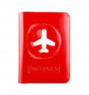 Porte passeport rouge Alife Design