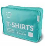 Housse de rangement Tee-shirts bleu Alife Design