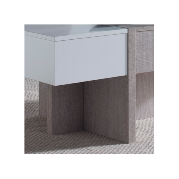 Table basse design relevable blanche concept - Table basse relevable design ...