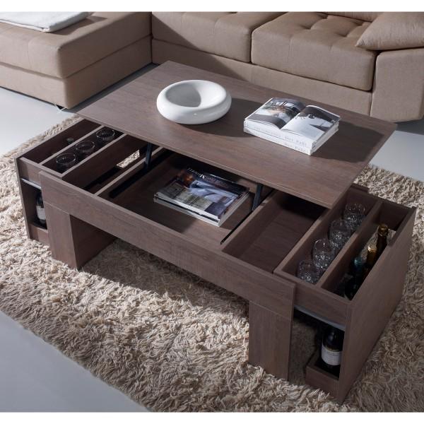 Table basse relevable design fonc e concept for Mobilier concept
