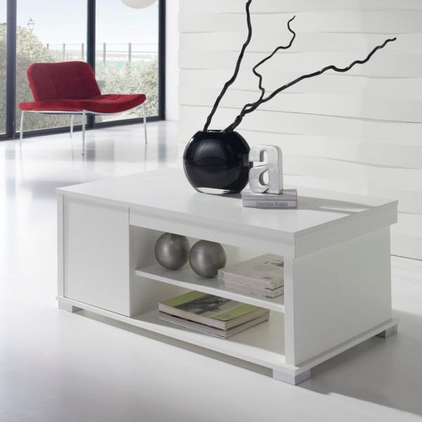 Table basse relevable blanche concept - Table basse relevable blanche ...