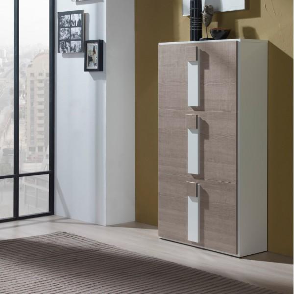 Meuble chaussures beige design concept for Livraison meubles concept