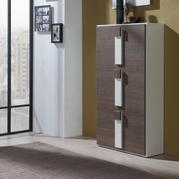 meuble chaussures bois agglom r ch ne concept. Black Bedroom Furniture Sets. Home Design Ideas
