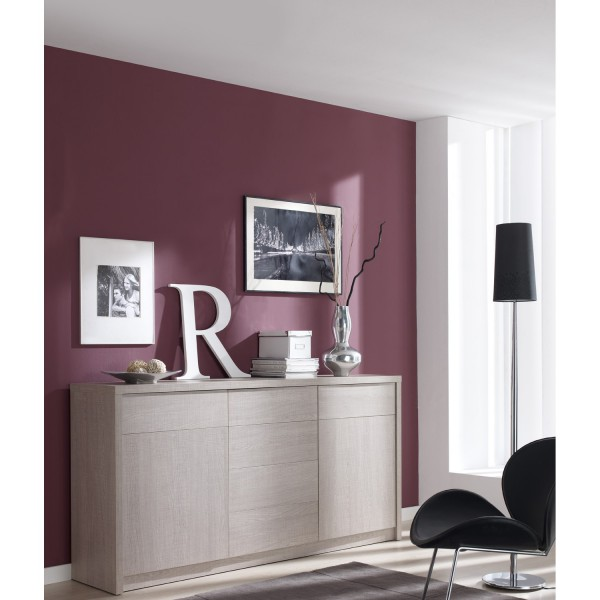 buffet placage m lamin imitation ch ne concept. Black Bedroom Furniture Sets. Home Design Ideas