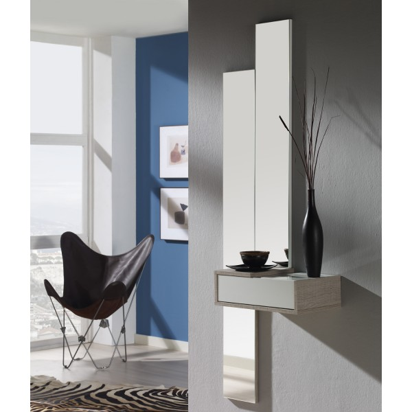 meuble d 39 entr e et miroirs concept. Black Bedroom Furniture Sets. Home Design Ideas