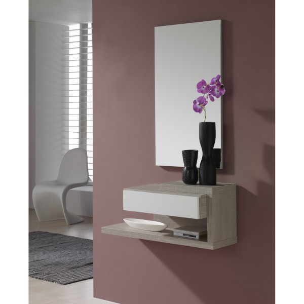 Meuble d 39 entr e design miroir concept for Miroir design entree