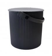 Pot noir multi-fonction Noir