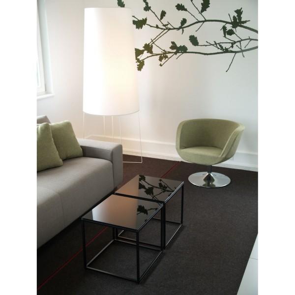 lampadaire design rouge grand lampe sur pied pour salon. Black Bedroom Furniture Sets. Home Design Ideas