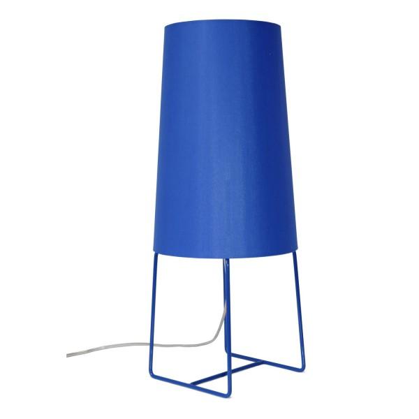 lampe poser bleue fraumaier d coration. Black Bedroom Furniture Sets. Home Design Ideas