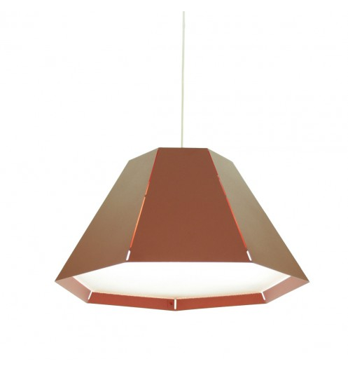Suspension rouge originale luminaire design for Luminaire suspension rouge