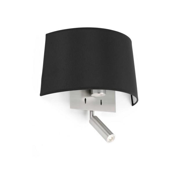 Applique murale noire design + liseuse LED - Différents styles de ...