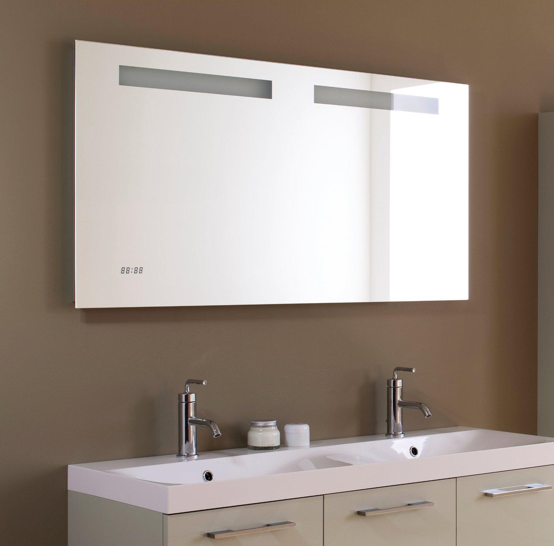 Miroir salle de bain relfet time 1 d co et saveurs for Salle de bain 2013