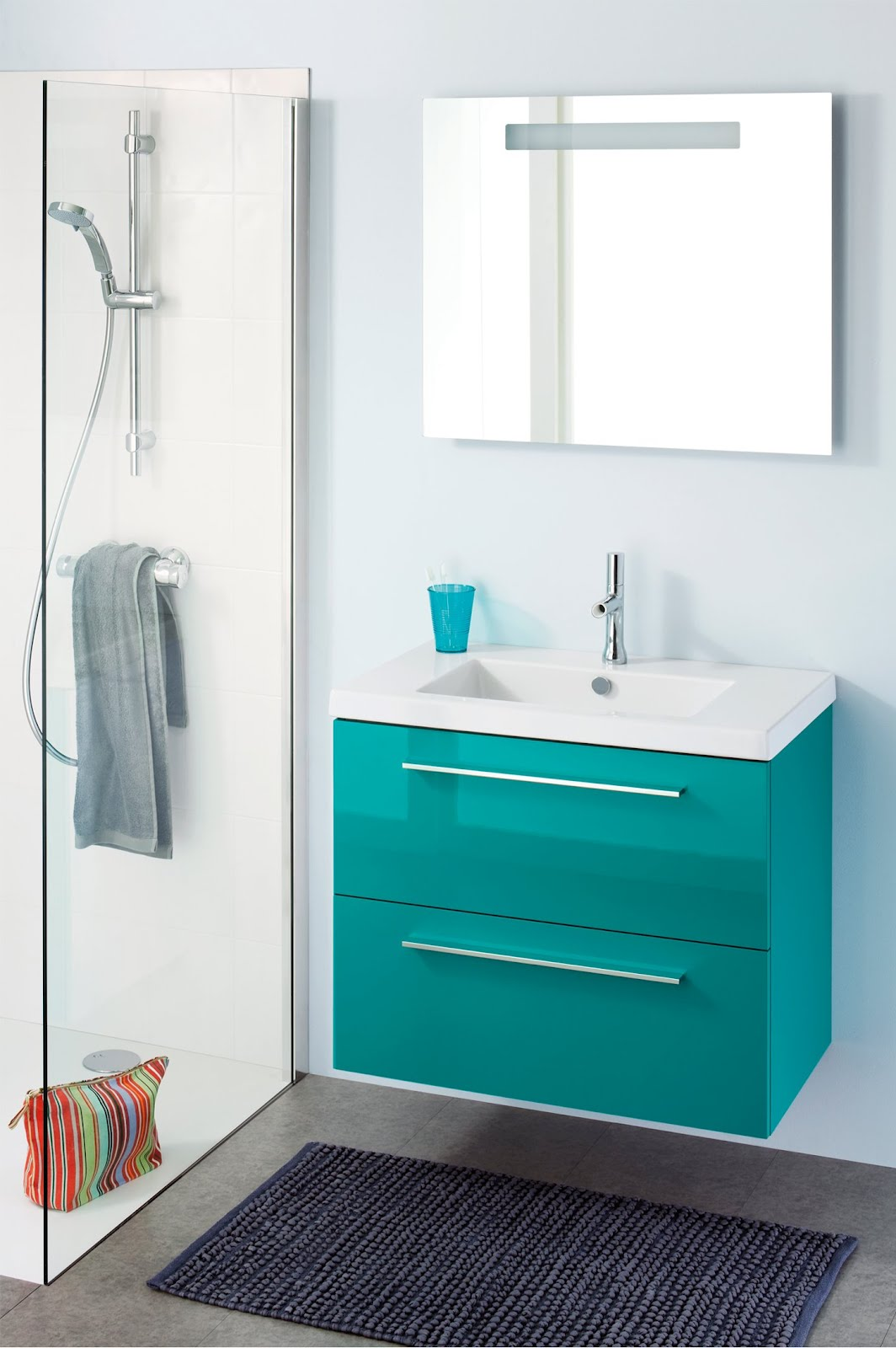 La salle de bain dans tous ses tats d co et saveurs for Couleur salle de bain bonne mine