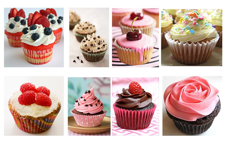 Les go ters de l 39 t d co et saveurs - Deco pour cupcake ...