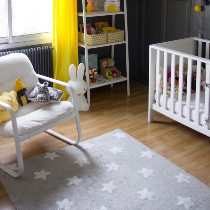 Tapis de chambre bb tapis chambre bebe nuage lombards for Tapis chambre bebe fille gris et rose